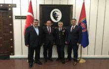 Kaymakam Yavuz Ve Başkan Yılmaz'dan Orgeneral Arif Çetin'e Hayırlı Olsun Ziyareti