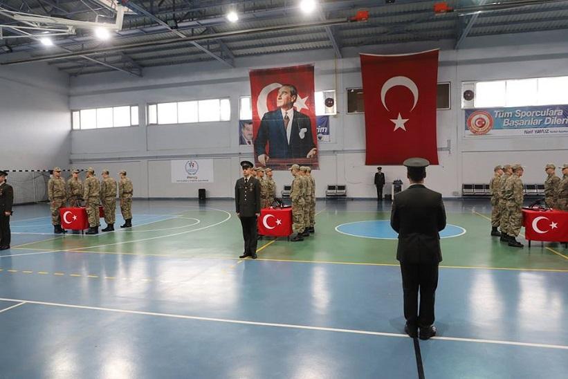 Başkan Yılmaz 369. Kısa Dönem Askerlerimizin Yemin Törenine Katıldık