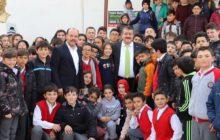 Başkan Yılmaz Okul Ziyaretlerine Devam Ediyor