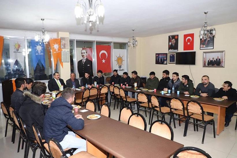 Başkan Yılmaz AK Parti Gençlik Kolları Başkanlığımızın Haftalık İstişare Toplantısı Gerçekleştirildi.
