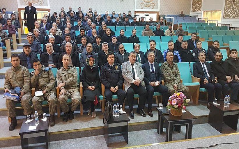 Kelkit'te Huzur ve Güvenlik Toplantısı Yapıldı