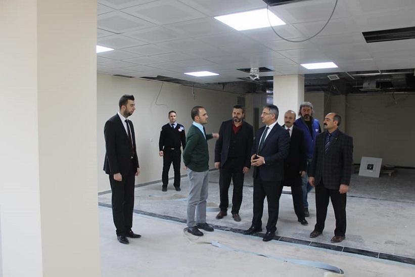 Kaymakam Yavuz Kelkit Devlet Hastanesini Ziyaret Etti