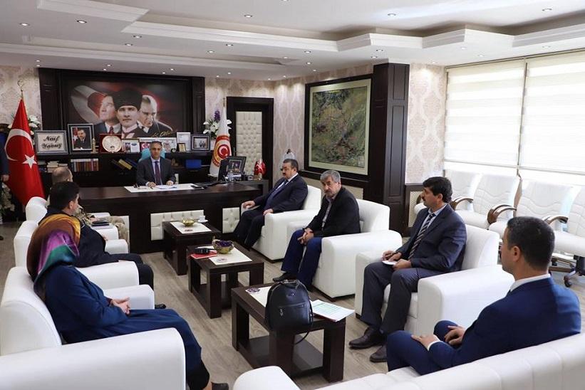 İlçe Spor Güvenlik Kurulu Toplantısı Kaymakam Yavuz Başkanlığında Gerçekleştirildi