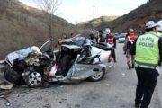 Feci Kazada 3 Kişi Öldü 1 Kişi Yaralandı