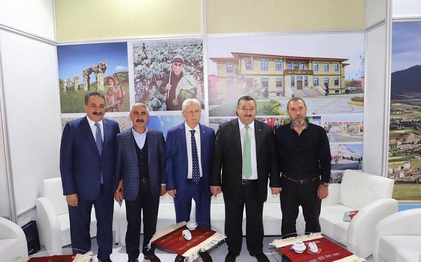 Başkan Yılmaz Ankara'da Standımızı Ziyaretlerinden Dolayı Teşekkür Ediyorum