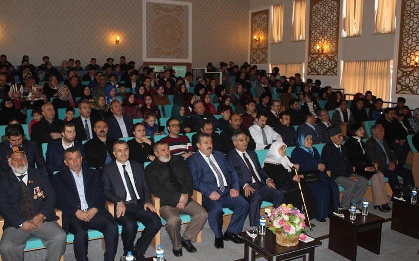 Muammer Ve Enver Şahin Anadolu Lisesi 18 Mart Programı Düzenledi