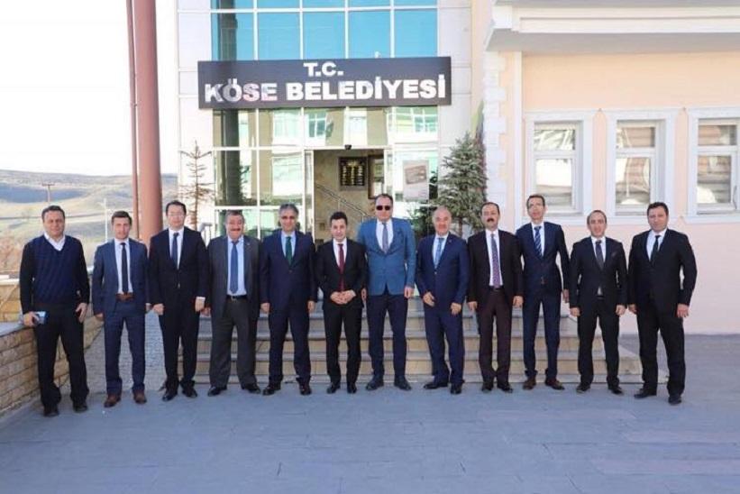 Naif Yavuz Köse Kaymakamı Ve Belediye Başkanına Teşekkür Ediyorum