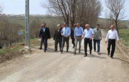 Kaymakam Yavuz Ve Beraberindekiler Grup Köy Yollarında İncelemelerde Bulundular