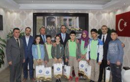Kaymakam Naif Yavuz'a Makamında Ziyaret