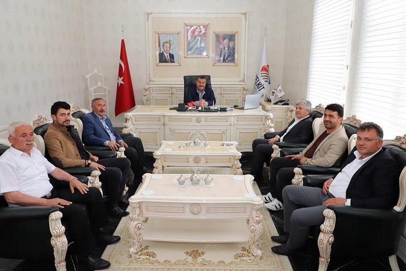 Ak Parti Milletvekili Aday Adayı Kemalettin Aydın'dan Başkan Yılmaz'a Ziyaret