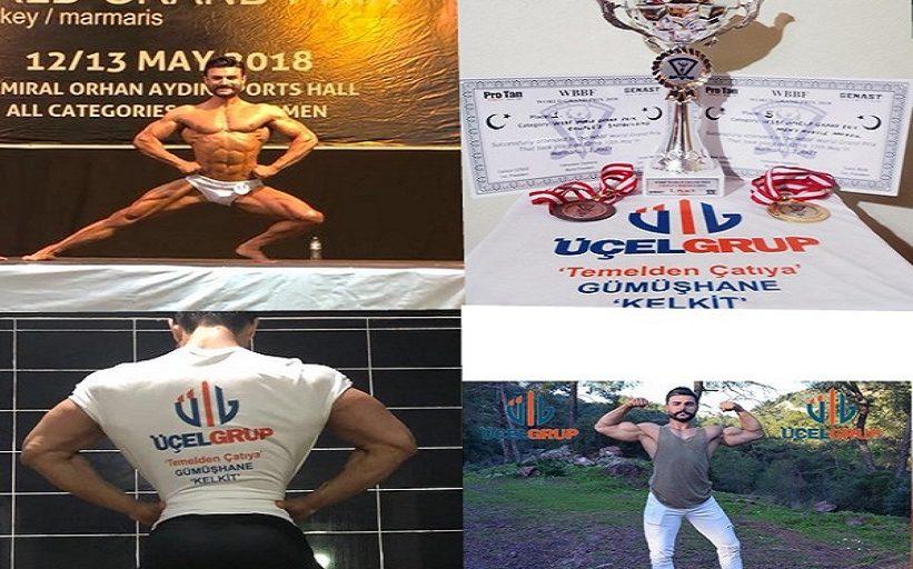 Kelkitli COUPLE'S BODYBUILDING Dünya Şampiyonu Oldu