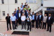 Kaymakam Yavuz Ve Başkan Yılmaz'dan Polis Ve Askerlere Ziyaret