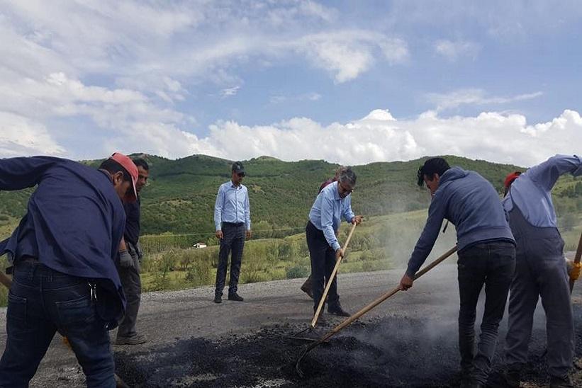 Kaymakam Yavuz Köy Yollarımızda Çalışmalara Devam