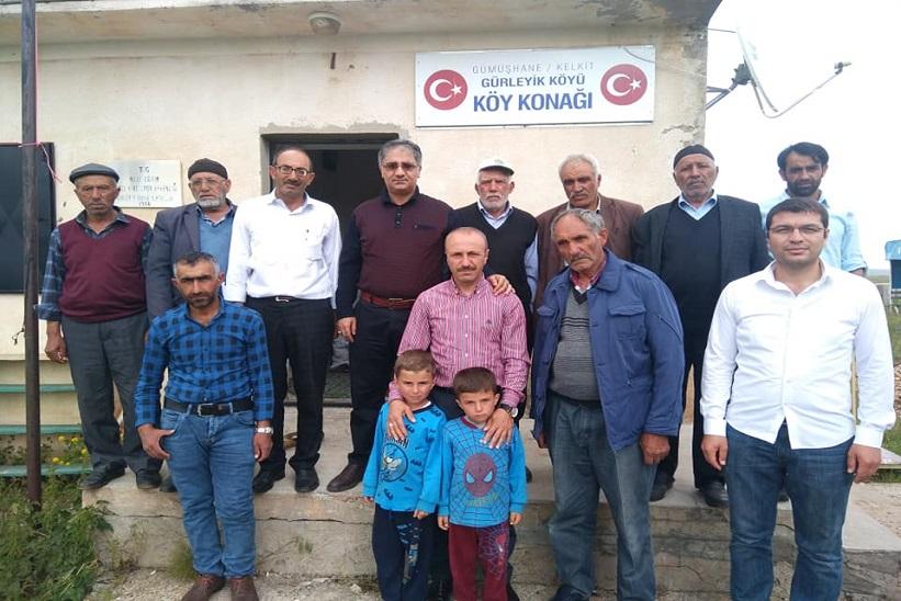 Kaymakam Yavuz Ve KHGB Müdürü Gürleyik Köyünü Ziyaret Etiller