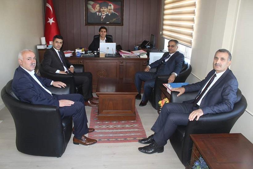 Kaymakam Yavuz Yeni Atanan Cumhuriyet Savcısına Hayırlı Olsun Ziyaretinde Bulundu.
