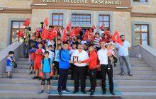 Kelkit Nas Spor Kulübünden Başkana Ziyaret