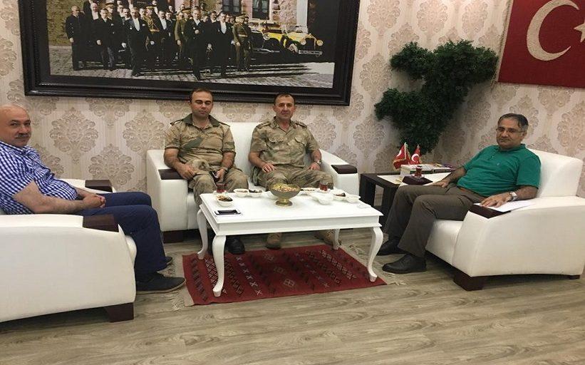 Albay Cezayir Danışan Veda Ziyaretinde Bulundu