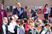 Başkan Yılmaz Fatih Sultan Mehmet İlkokul'unda Düzenlenen Programa Katıldık