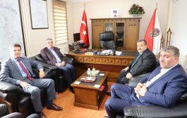 Milletvekili Pektaş Ve Beraberindekiler İlçe Emniyet Müdürünü Ziyaret Ettiler