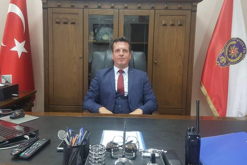 Şahin Dizman ilçe Emniyet Müdürlüğüne Atandı