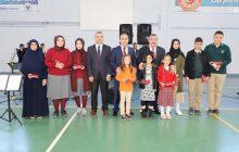 İlçe Gençlik ve Spor Müdürlüğü Salonunda 29 Ekim Programı Gerçekleştirildi.