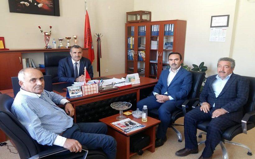 Milli Eğitim Müdürü Ve Şube Müdürü Şehit Osman Şahin İlkokulunu Ziyaret Ettiler