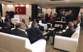 Muhtarlar'dan Kaymakam Aziz Onur Aydın'a Ziyaret
