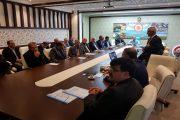 Kaymakam Başkanlığında Okul Kurum Müdürleri İle Toplantı Gerçekleştirildi.