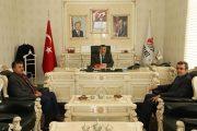 İl Nüfus Müdürü Başkan Yılmaz'ı Ziyaret Etti