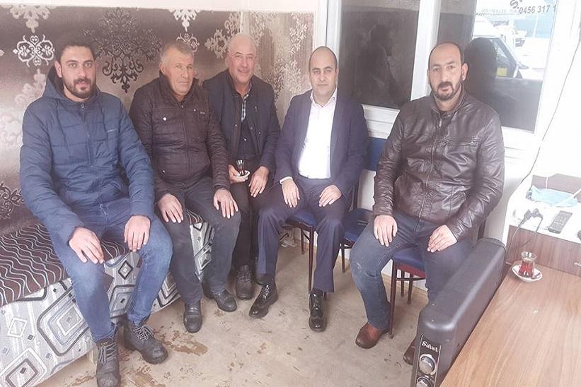 Kelkit Kaymakamı Aziz Onur Aydın'dan Taksi Duraklarına Ziyaret