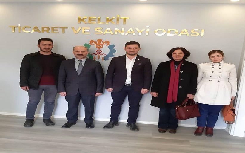 KTSO Yönetim Kurulu Başkanı Mustafa Servet Daltaban'ı Makamında Ziyaret Ettiler
