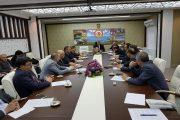 Milli Eğitim Müdürü İsmail Yücel Başkanlığında Toplantı Gerçekleştirildi.
