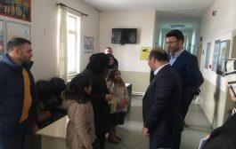 Kaymakam Aydın 14 Mart Tıp Bayramı Dolayısıyla Sağlık Ocaklarını Ziyaret Etti