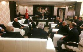 Şehit Yakınları Ve Gazilerimiz Kaymakam Aziz Onur Aydın'ı Ziyaret Ettiler