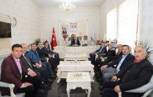 Yeni Seçilen Kelkit Belediye Başkanı Aziz Nas'a Ziyaret