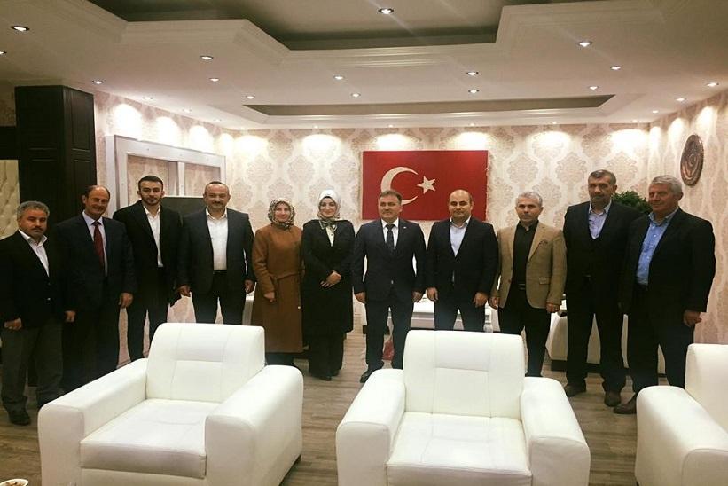 Gümüşhane Belediye Başkanı Çimen'den Kaymakam'a Ziyaret