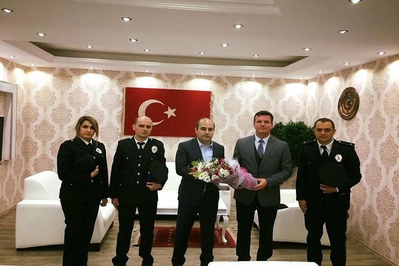 Kaymakam Aydın 10 Nisan Polis Haftasını Kutladı.