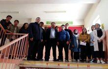 İl Milli Eğitim Müdürü Ve İlçe Milli Eğitim Müdürü Öğrencilere Başarılar Dilediler