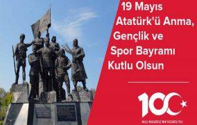 19 Mayıs Atatürk'ü Anma,Gençlik ve Spor Bayramının 100.Yılı kutlu olsun.