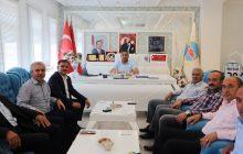 Başkan Nas Ve Beraberindekiler Köse Belediye Başkanını Ziyaret Ettiler.