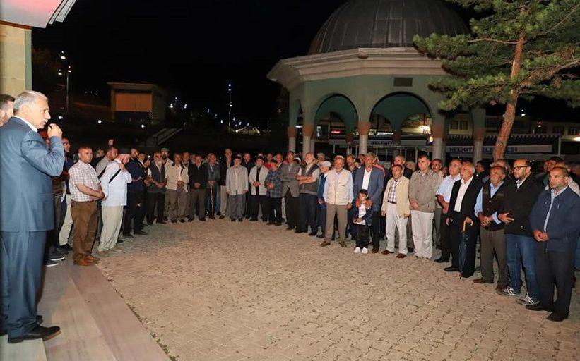 Başkan Nas Kutsal Topraklara Gidecek Olan Hacı Adaylarımızı Dualarla Uğurladık.