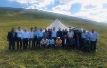 Kaymakam Aydın Başkan Nas Ve Beraberindekiler Çimenli Yaylasını Ziyaret Ettiler