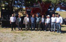 Kaymakam Aydın KHGB Müdürü İle Birlikte Aziz Köyü Şenliklerine Katıldılar.