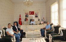 Başkan Nas Ziyaretlerinden Dolayı Kendilerine Teşekkür Ediyorum.