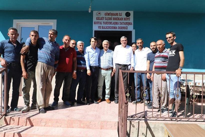 Eskikadı Köyü Sosyal Yardımlaşma Ve Dayanışma Derneği Açıldı.