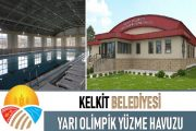 Gümüşhane Kelkit İlçesinde Yapılan Yüzme Havuzu Geçici Olarak Kapatıldı