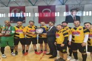 Kelkit Milli Eğitim Takımı Olarak Gümüşhane Şampiyonu Oldular.