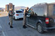Jandarma'da Kontroller Aralıksız Devam Ediyor