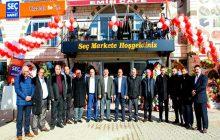 Kelkit'te Emin İnşaat Kardeşler Tarafından Yapılan Seç Marketin Ve Emin Cafenin Açılışı Gerçekleştirildi.