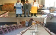 Günlük 150 Kişiye Öğlen Yemeği Hizmeti Veriliyor.
